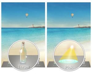 WeChat drift bottle feature