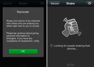 WeChat Shake Photo